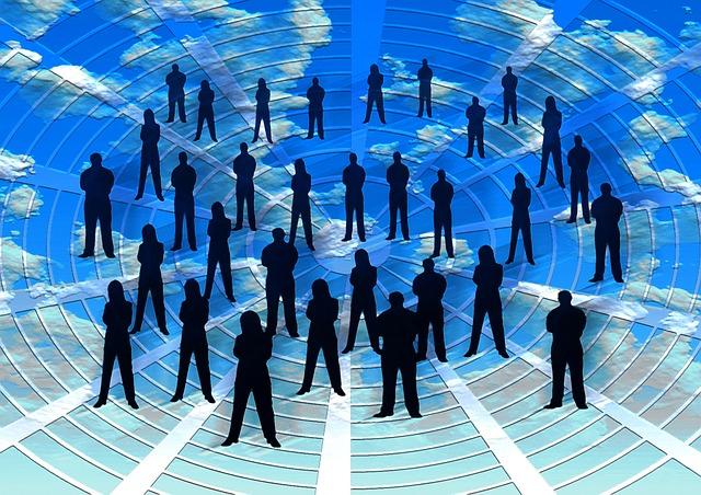 l'Humanité, le monde ensemble, collaboration, entraide et partage