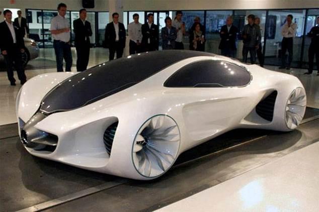 Un concept car Mercedes-Benz