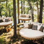 Salon en plein air, en forêt