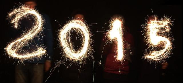 Mes vœux pour l'an 2015
