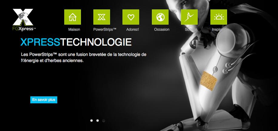 FG XPress Technologie avancée