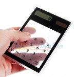 calculette transparente