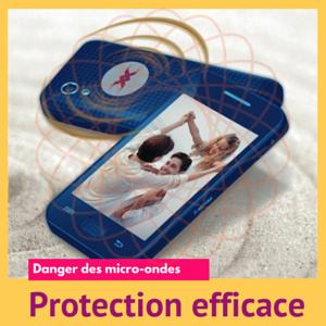 Patch de protection Ondehome pour être efficacement protégé des micro-ondes environnantes